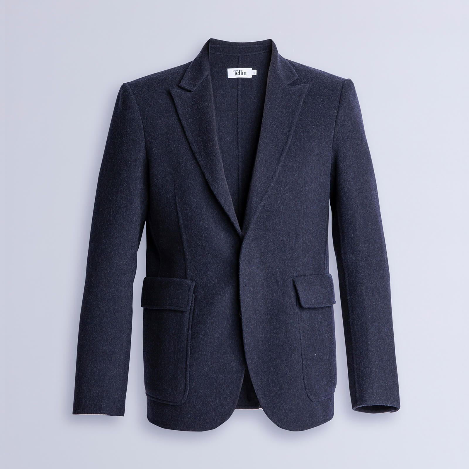 Double Face Blazer Man Blue
