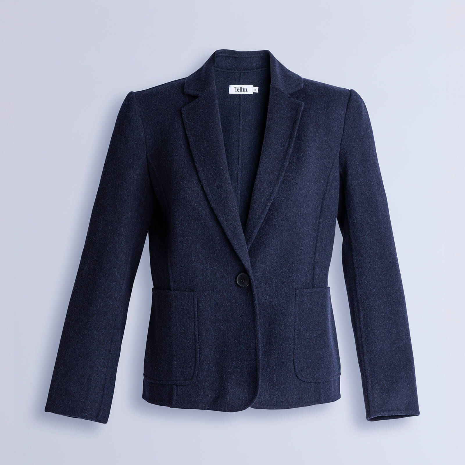 Double Face Blazer Woman Blue