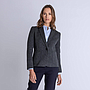 Double Face Blazer Grey Woman